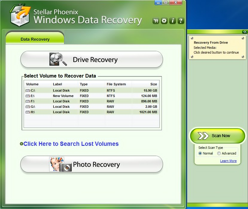 Stellar Phoenix Windows Data Recovery Home (ver. 5)