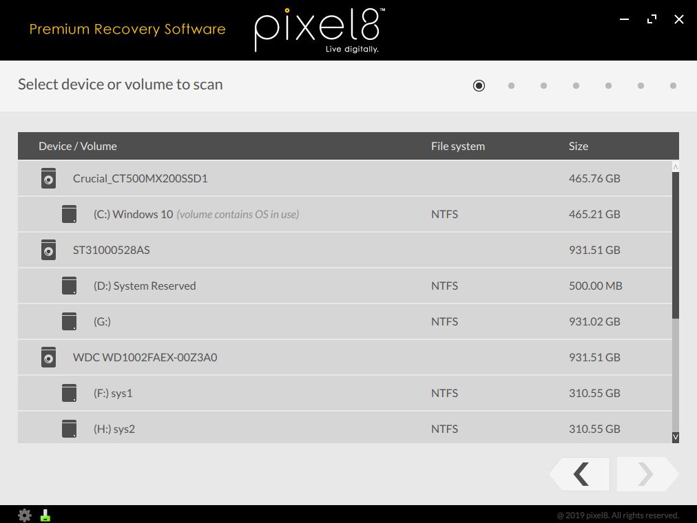 Premium Recovery Software (ver. 3.7)